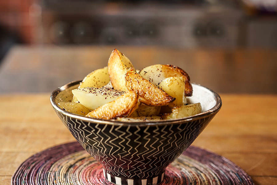 Potatoes Roasted with Sumac