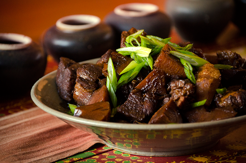 Pork Braised with Soy Sauce and Chinese Five Spice