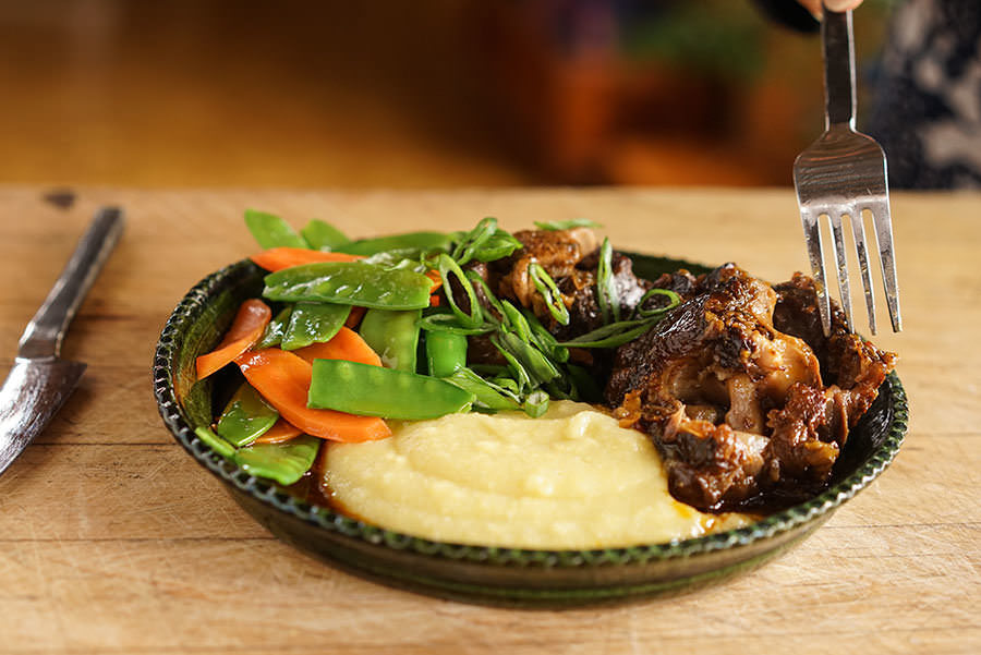 Oxtail with Rum