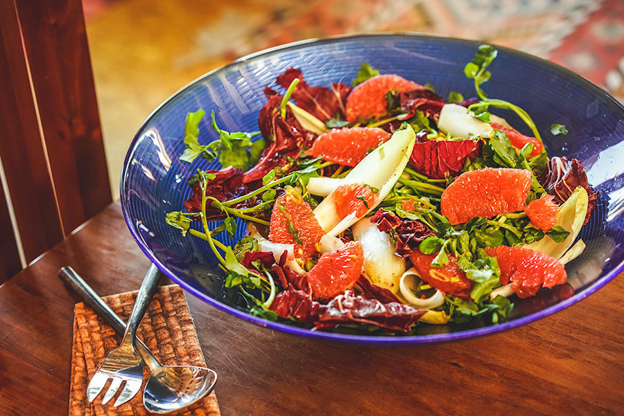 Holiday Grapefruit Salad