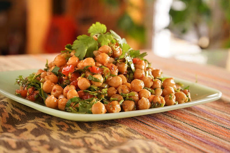 Mexican-Style Chickpea Salad