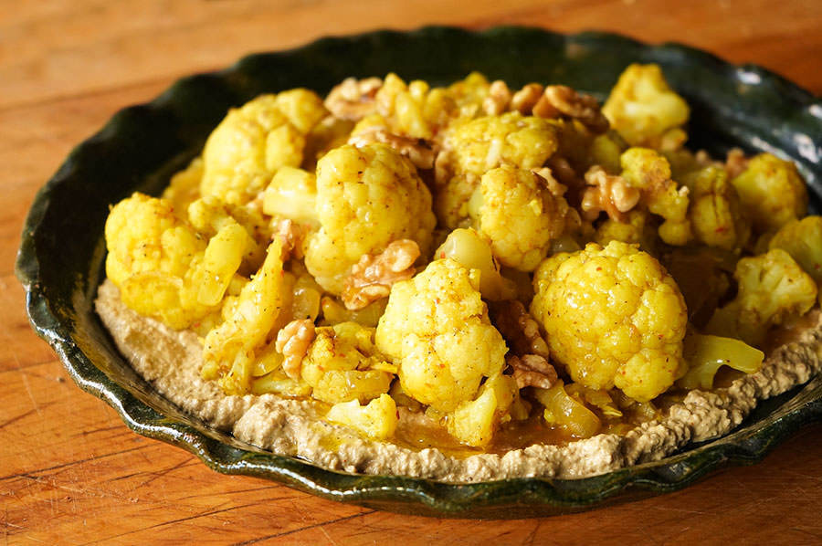 Cauliflower Satsivi