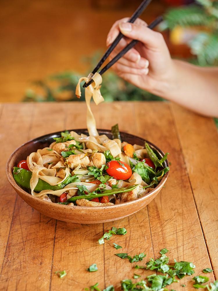 Sautéed Thai Noodles