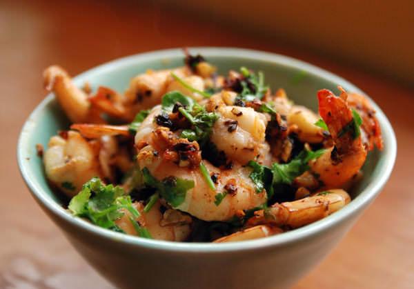 Smoky Oaxacan Shrimp
