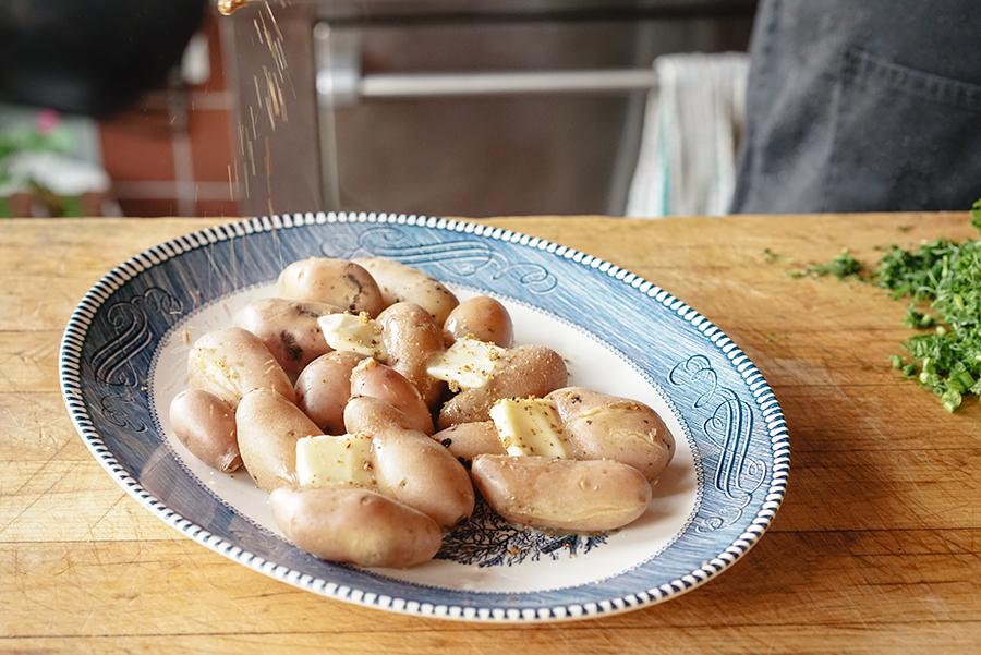 Svanetian Potatoes