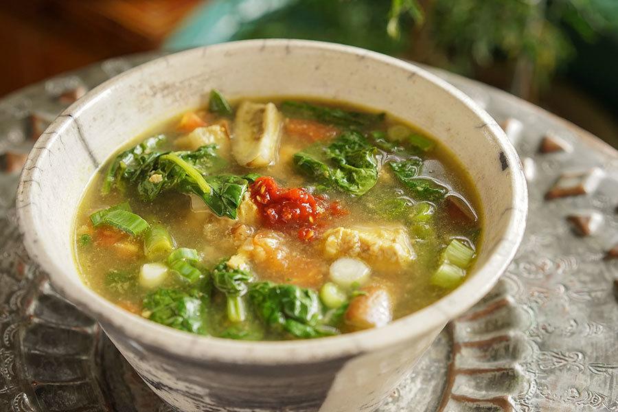 Tamarind Chicken Soup