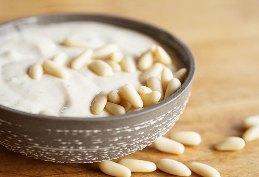 Pine nut taratur - Recipe | Spice Trekkers