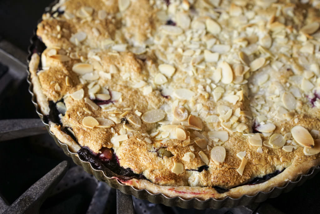 Berry and Frangipane Tart
