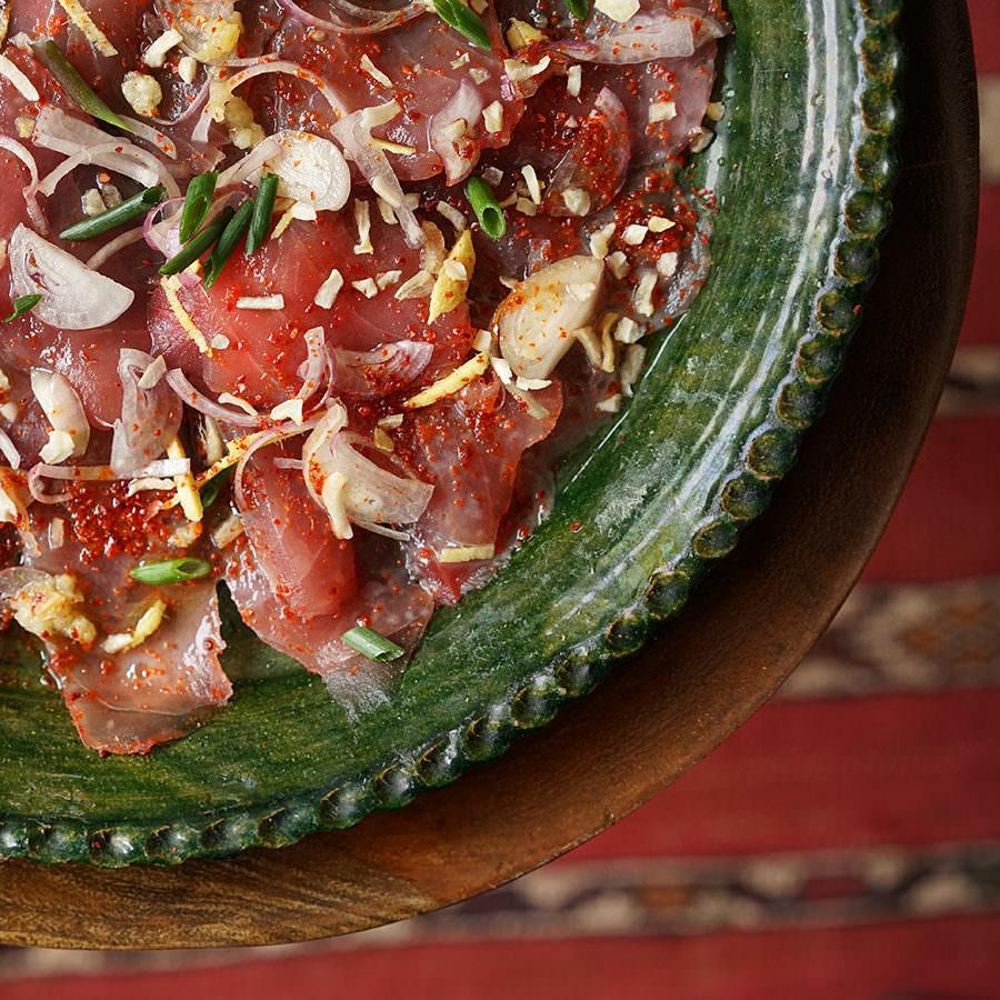 Balinese Tuna Tataki