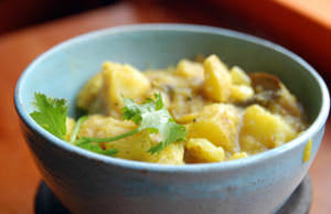Trini Curry Potatoes