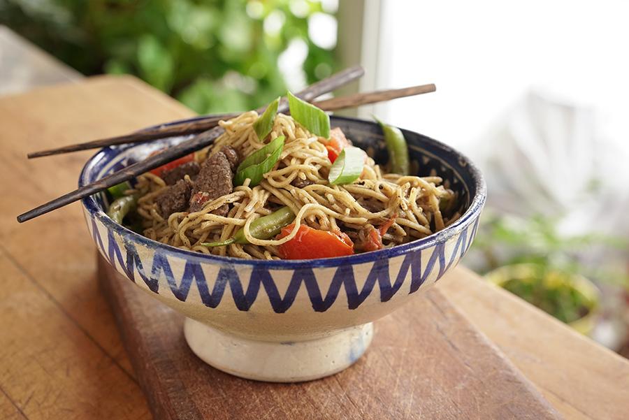 Uyghur-style Noodles