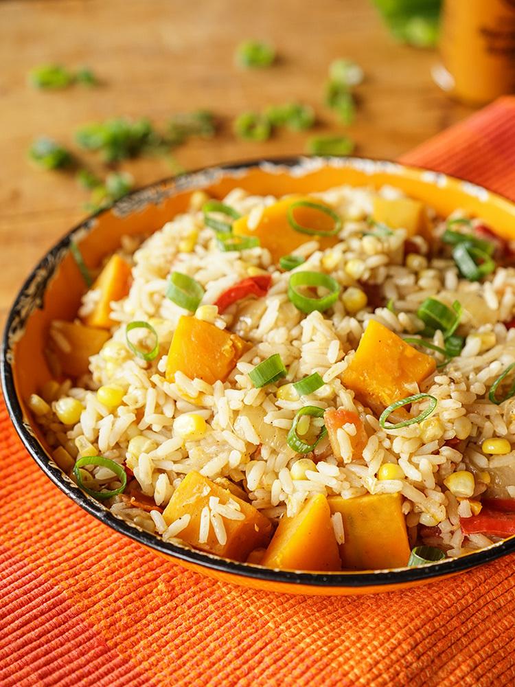West Indian Pumpkin Rice