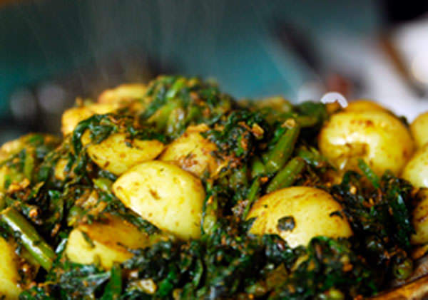 Bikaneri Bhujia - Indian Simmered Vegetables