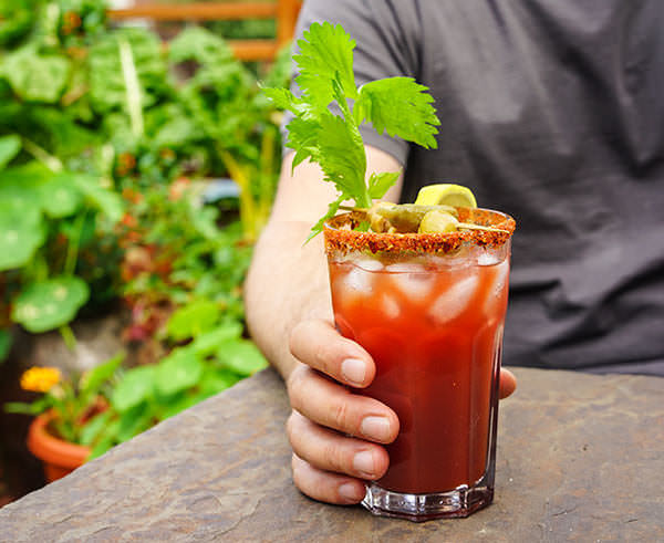 BBQ Bloody Caesar