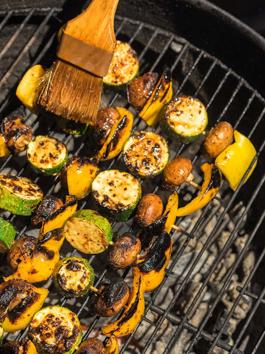 Tex-Mex Grilled Vegetable Skewers