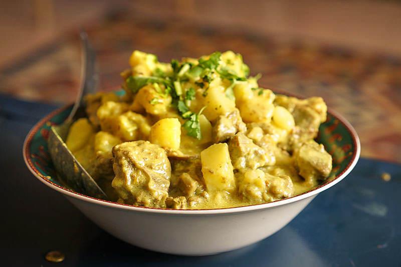 English Lamb Curry