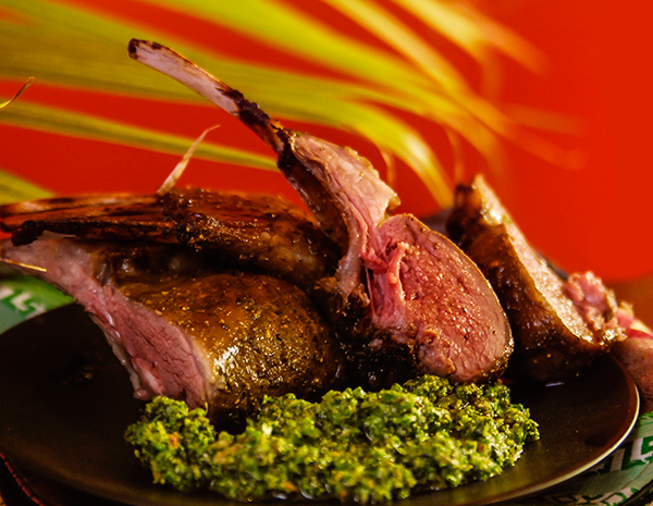 Silk Road Rack of Lamb
