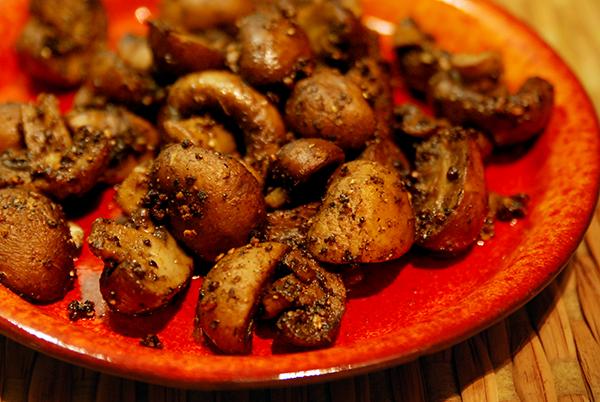 Sautéed Cremini Mushrooms