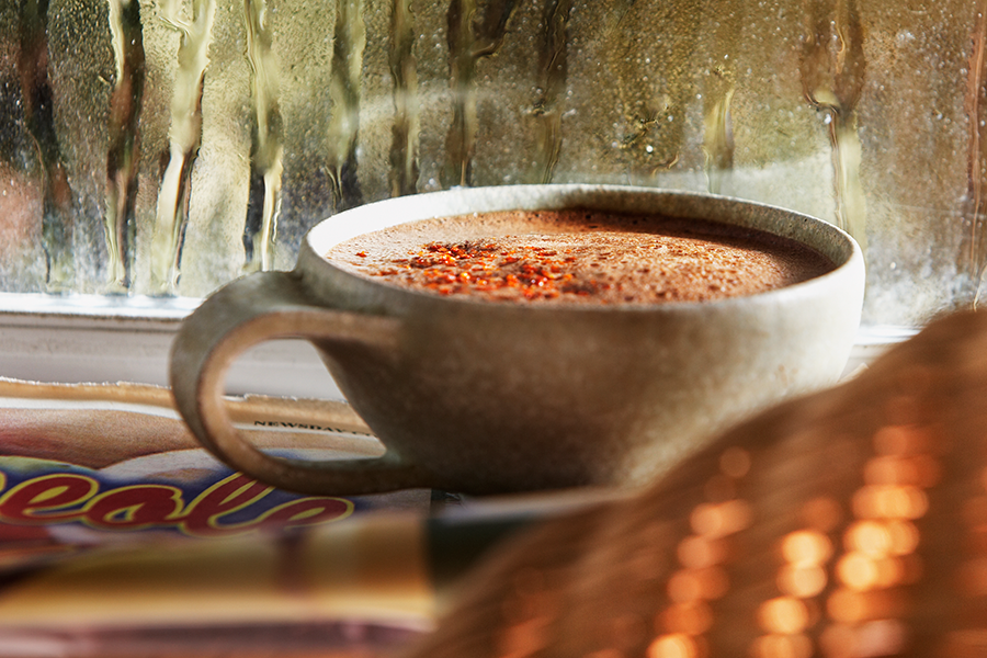 Oaxacan Spiced Hot Chocolate