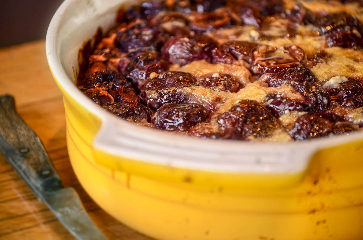 Fragrant Cherry Clafoutis