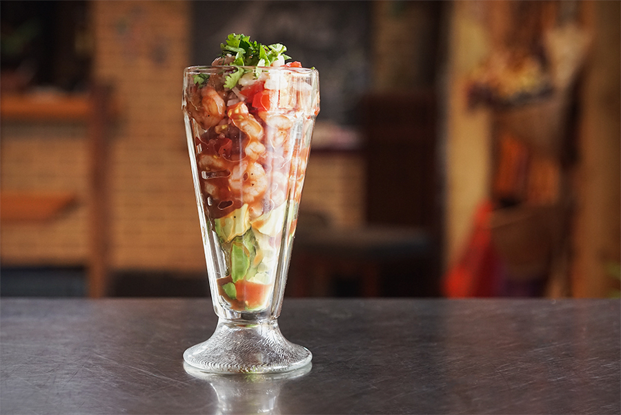 Yucatecan shrimp cocktail