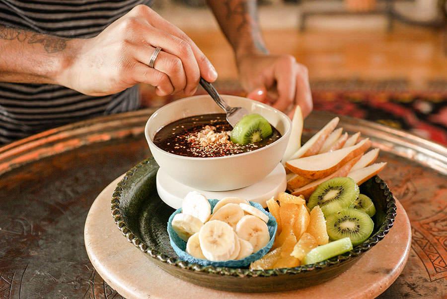 Spiced Chocolate Fondue
