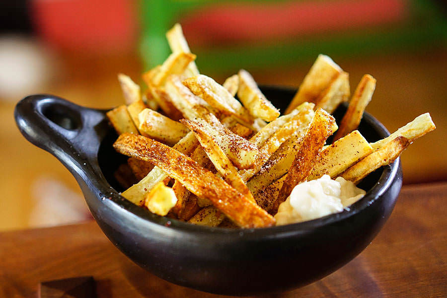 Oven-Baked French Fries with Sumac