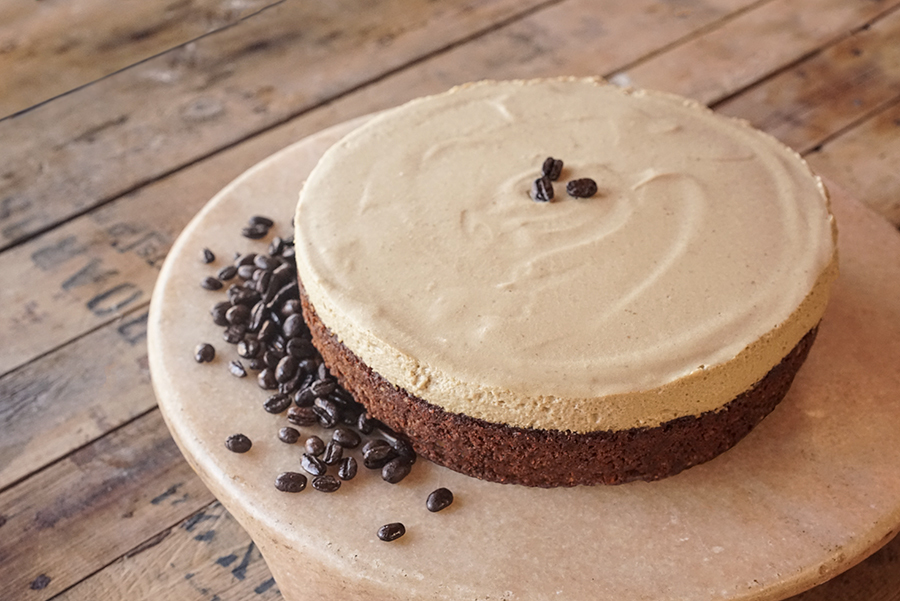 Walnut, Blondie Coffee Mousse Cake