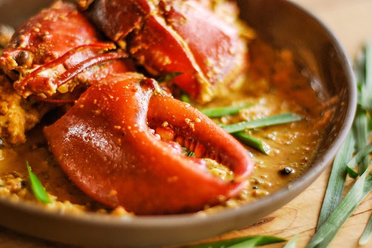 Imperial Kashmiri Curry Lobster