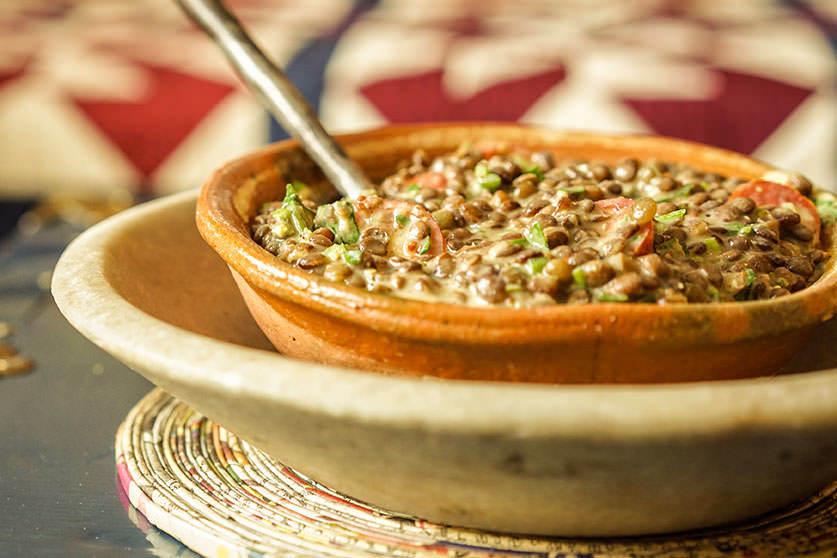 Lentil Salad à la Dijonnaise
