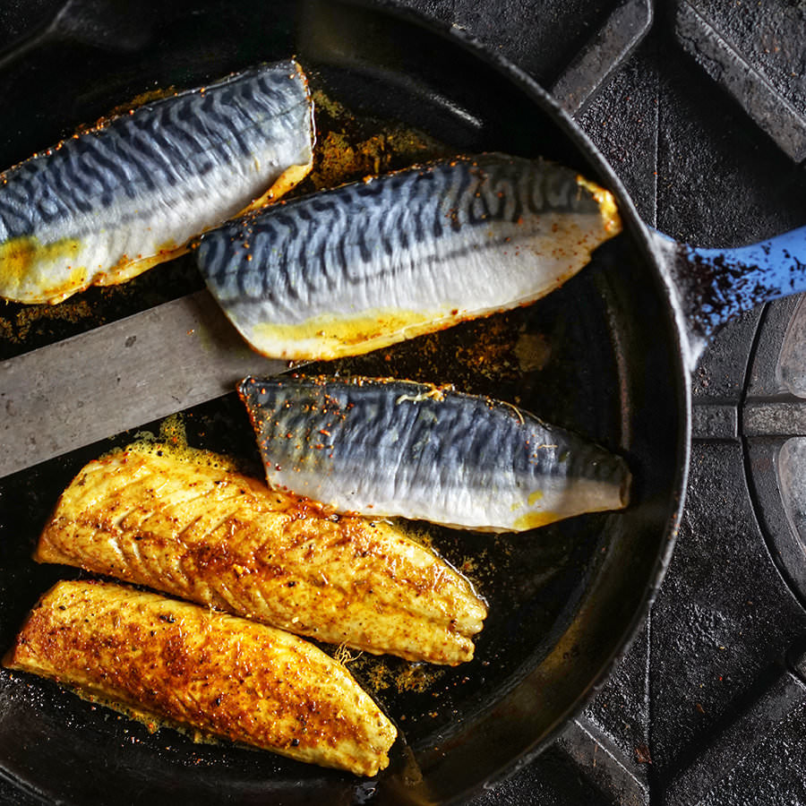 Indian-style Pan-fried Mackerel