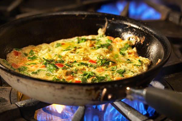 Masala mo poro - Indian Omelette