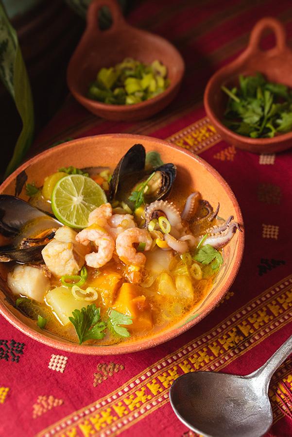 Peruvian Fish Soup
