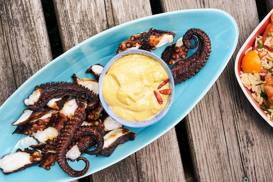 Peri-peri Grilled Octopus