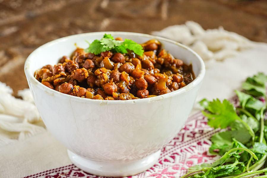 Sindhi Chola - Sindhi-style chickpeas