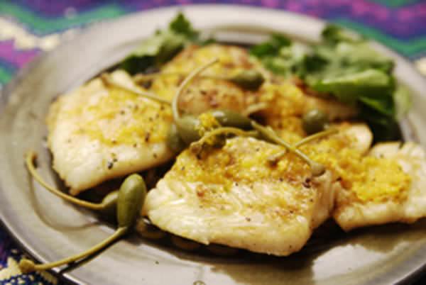 Grilled Fish with Citrus Vinaigrette