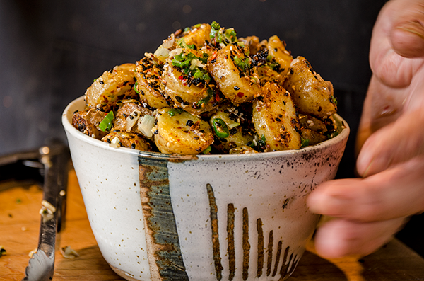 Stir-fried Sesame Potatoes
