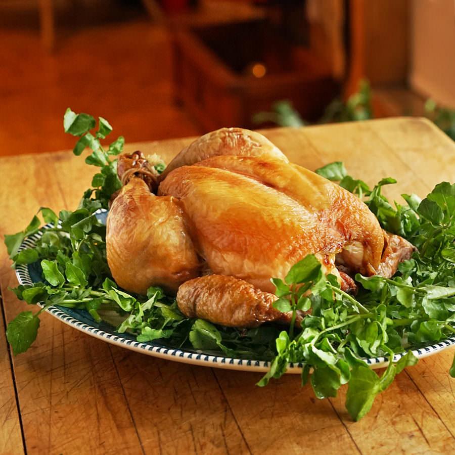 Salted Roast Chicken
