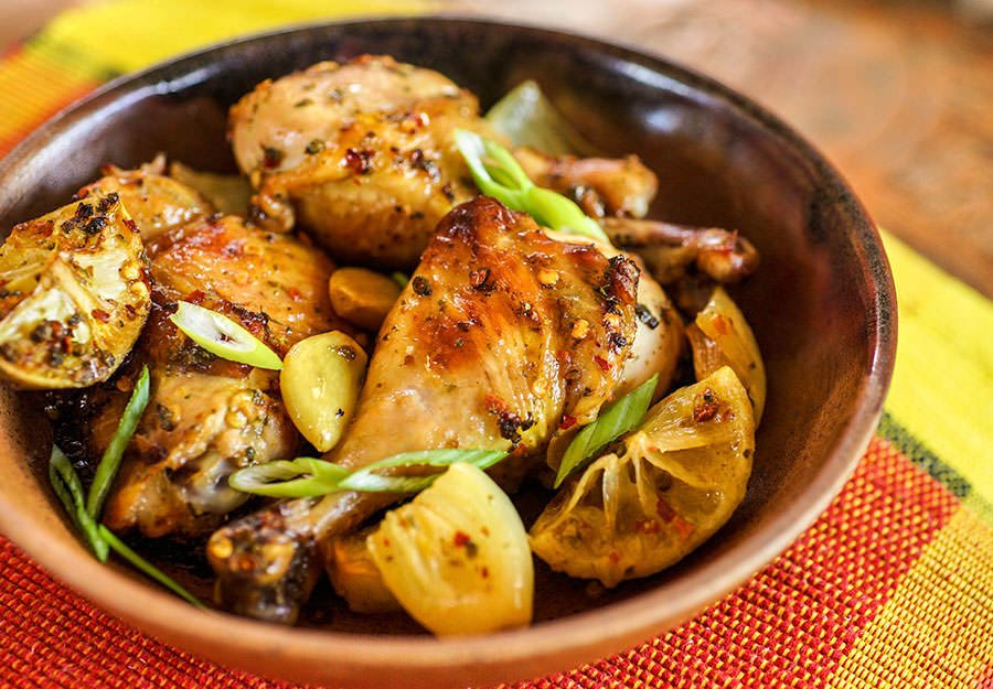Rustic Lime Chicken