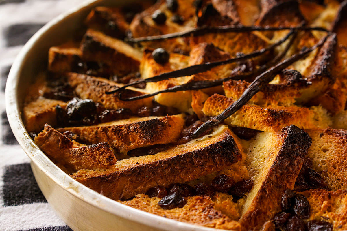 """Back from New Orleans"" Bread Pudding"