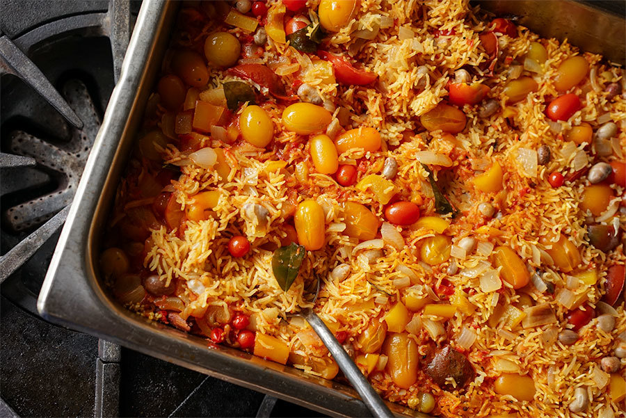 Tomato Indian Pilaf