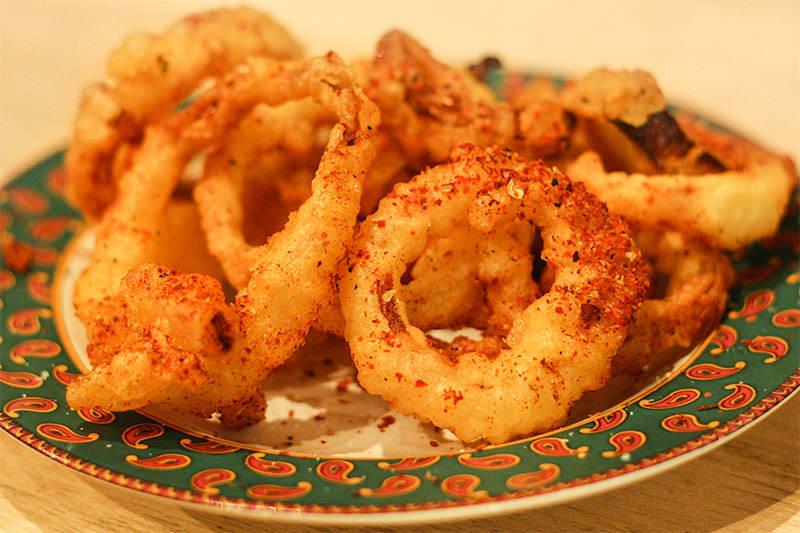 Berbere Onion Rings