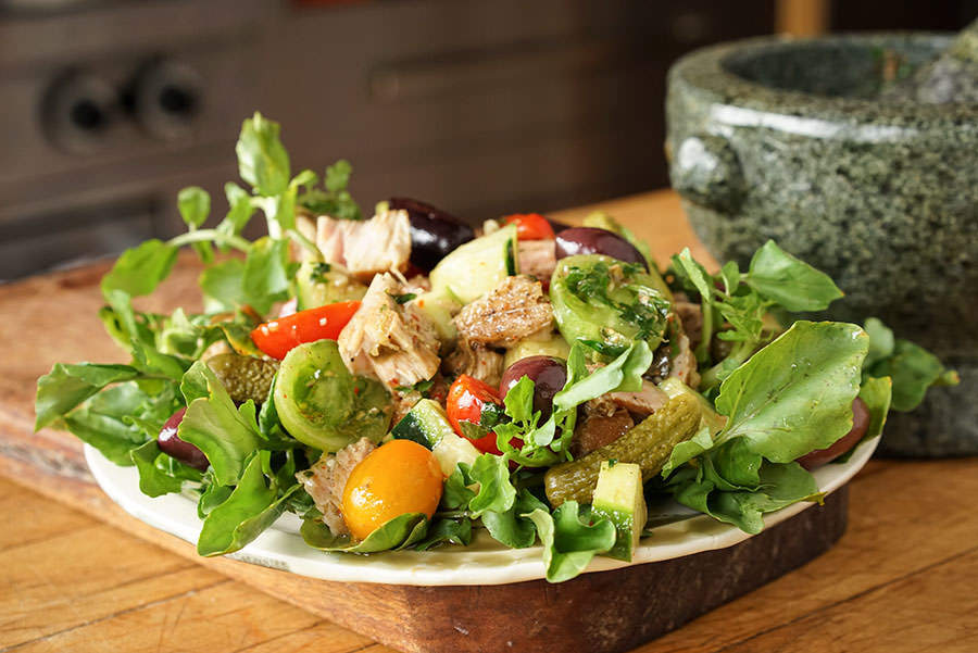 Tuna and Watercress Salad