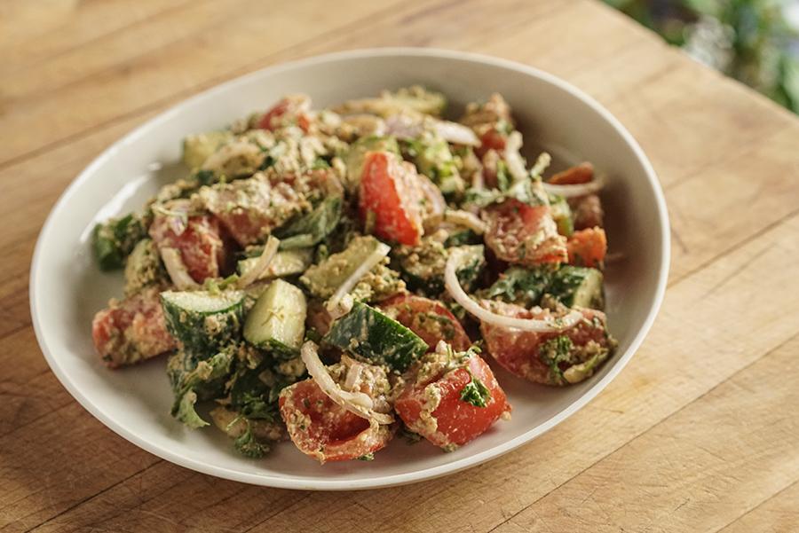 Salade Georgienne