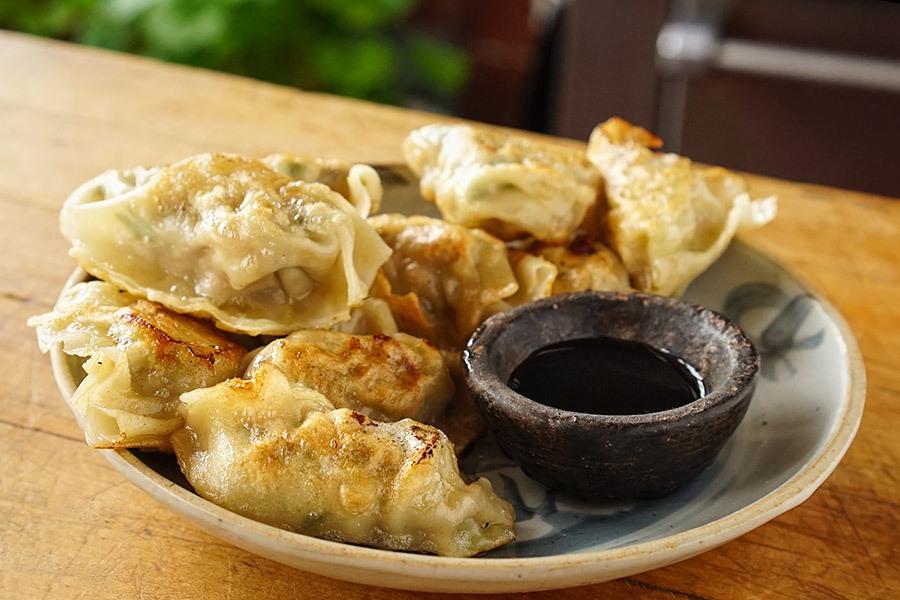 Homemade San Xian Dumplings