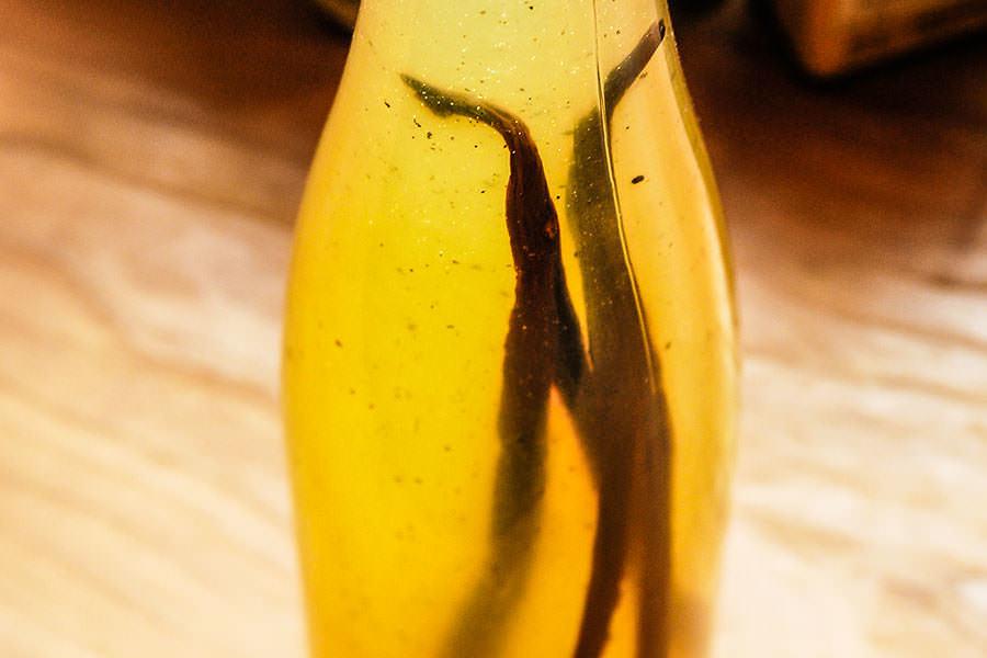 Lemon Vanilla Syrup