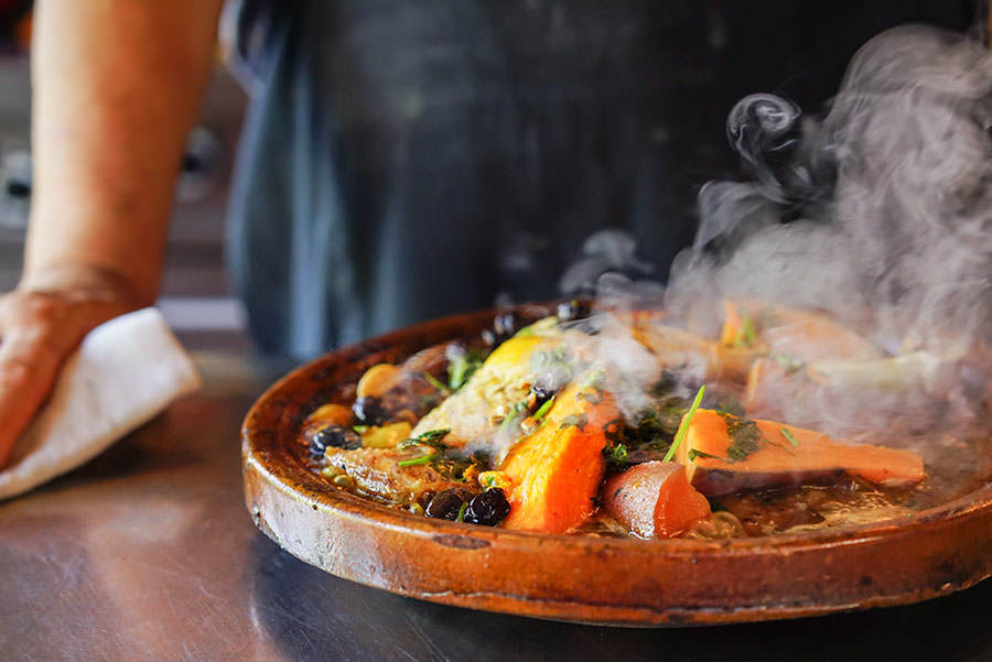Turkey and Sweet Potato Tajine