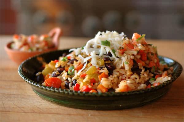 Tex-Mex Rice & Beans