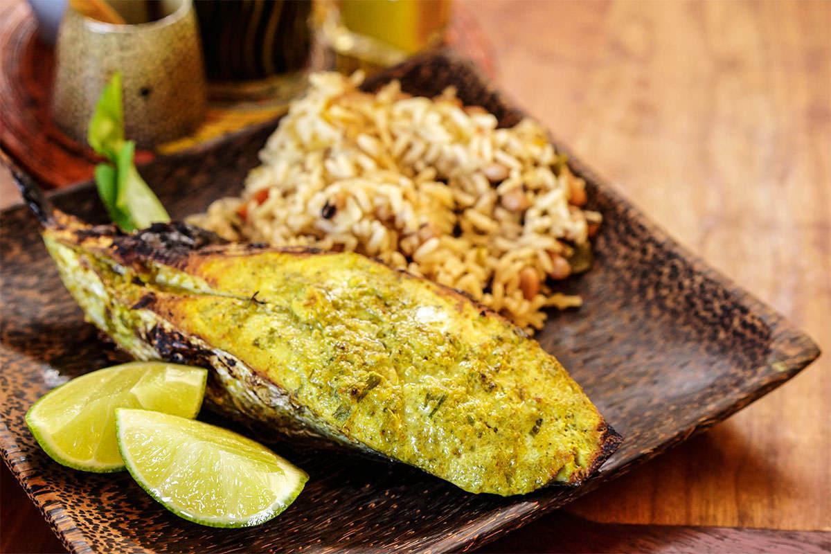 Cumana grilled Kingfish